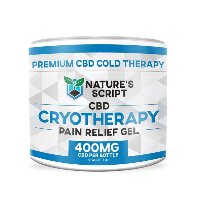 Cryotherapy CBD Rub 4oz 400mg