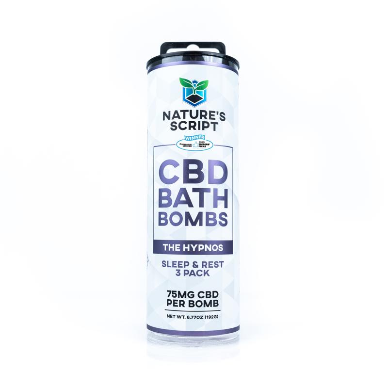 CBD Bath Bombs Lavender & Chamomile