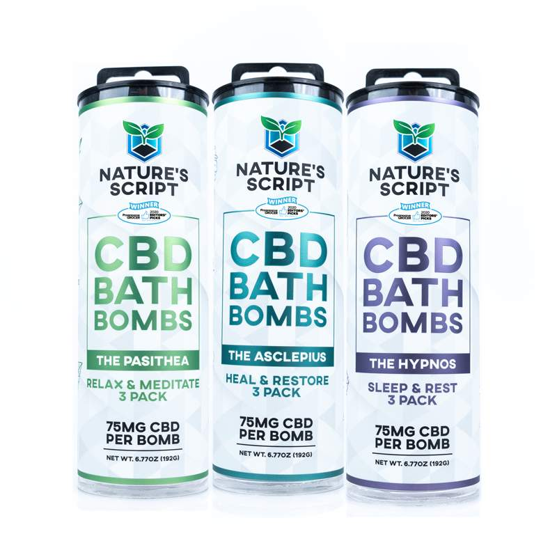 CBD Bath Bombs Variety