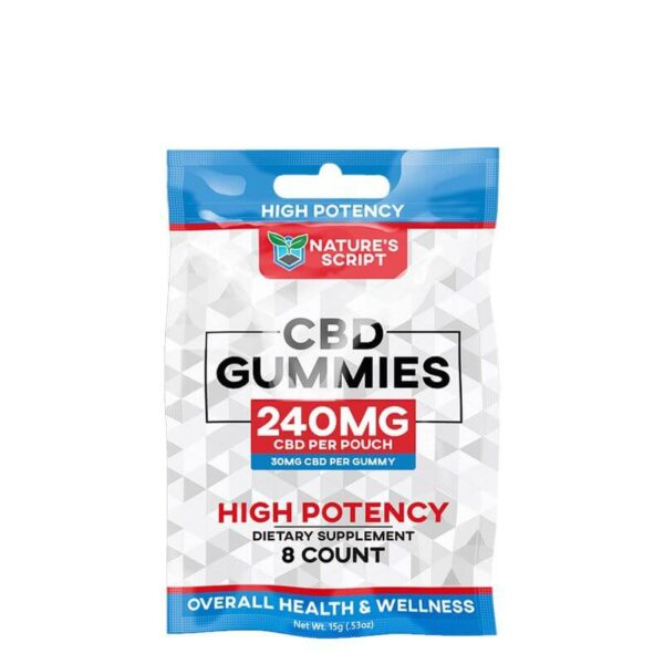 High Potency CBD Gummies Snack Pack