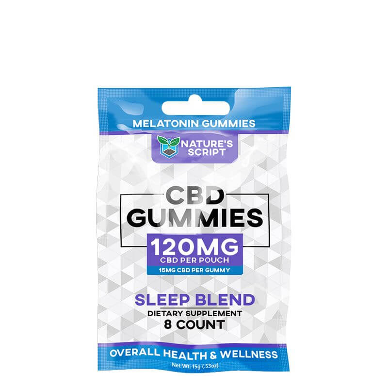 CBD Sleep Gummies with Melatonin