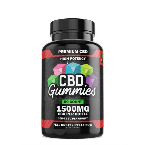 CBD Gummies High Potency 50ct